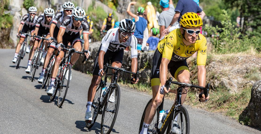 Pont-de-montvert-sud-mont-lozere,,France,-,July,21,,2018:,Egan,Arley,Bernal,Riding