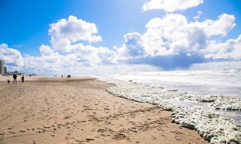 The North Sea, the Netherlands, Noordwijk.