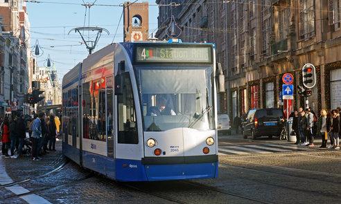 GVB tram Amsterdam