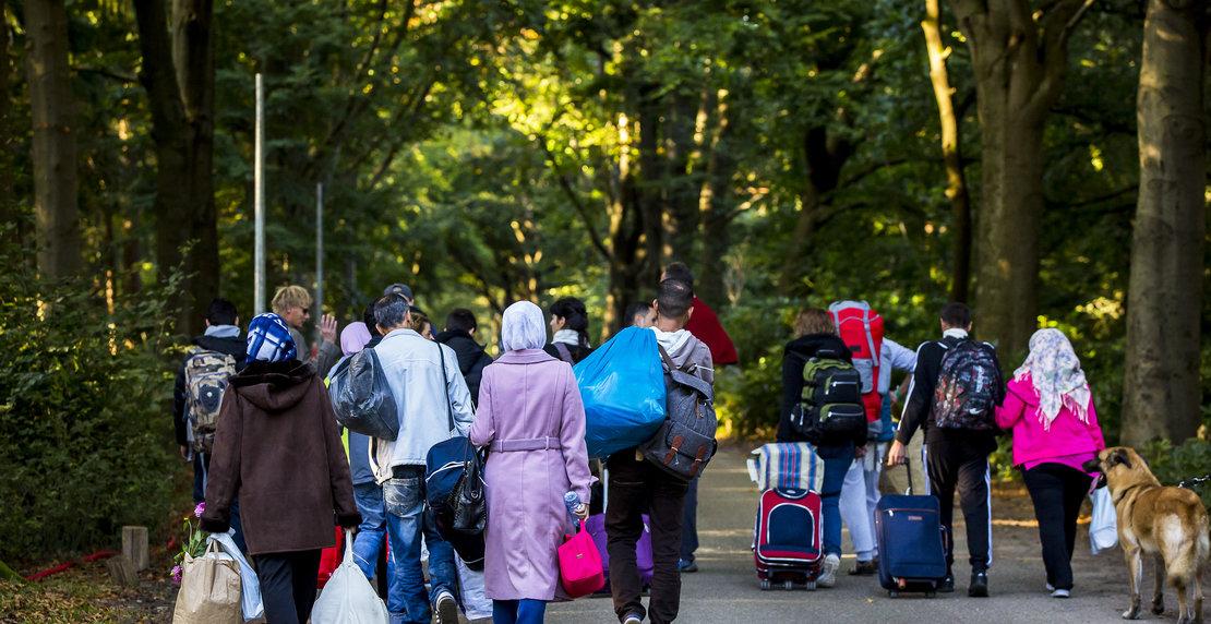 Deel vluchtelingen ontevreden over tentenkamp