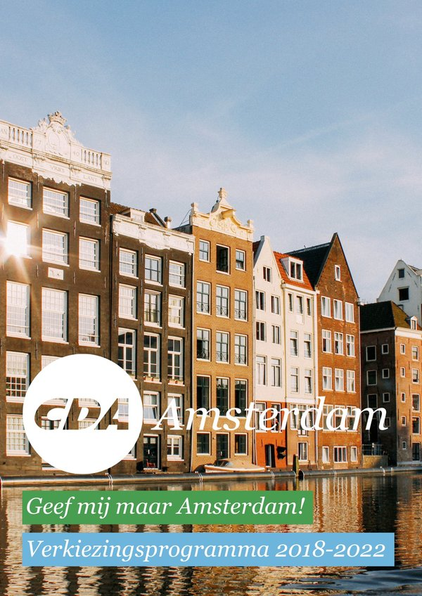 Download hier het verkiezingsprogramma van het CDA Amsterdam