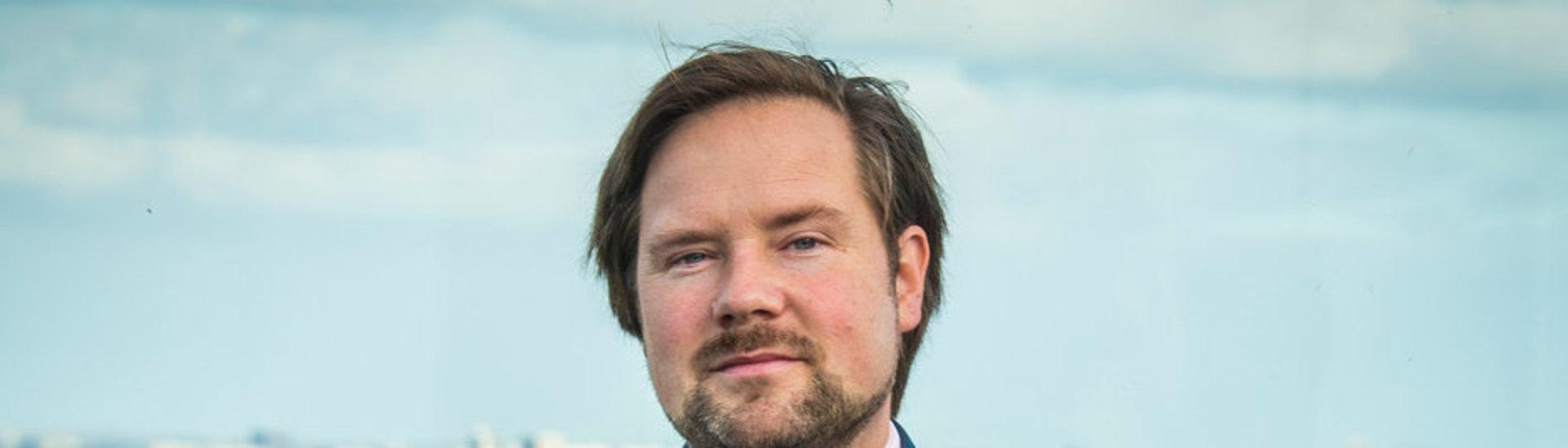 fractievoorzitter Diederik Boomsma.