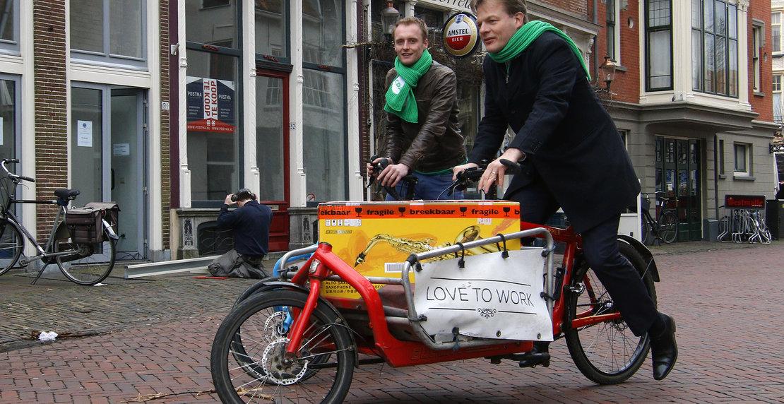 CDA-er Pieter Omtzigt bezoekt Deventer