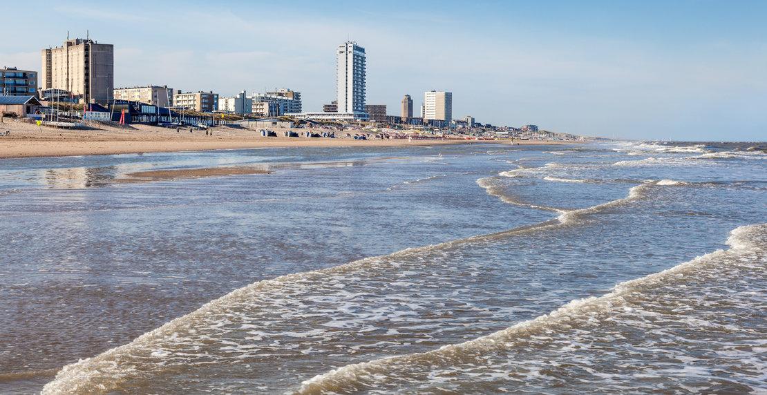 Beach in Zandvoort, Netherlands