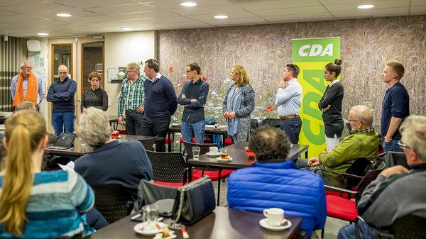 CDA bekendmaking lijsttrekker
